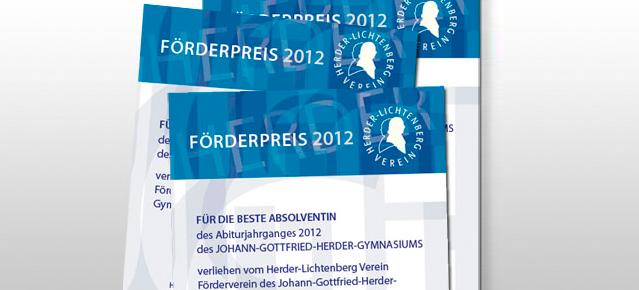 Förderpreis 2012