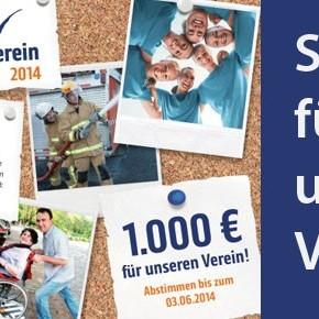 Jetzt bitte abstimmen und für unsere Schule 1.000 Euro gewinnen